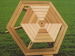 Composite Picnic Table Plans Details San Plans - Composite octagon picnic table