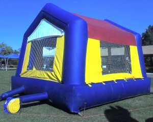 our moonbounce might look like this one