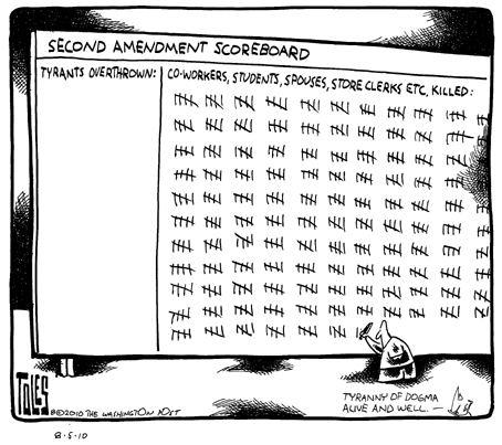 second amendment is not functioning as designed
