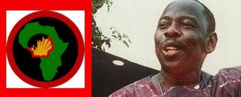 Ken Saro Wiwa was murdered by by the Nigerian government as a proxy for Shell