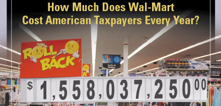 just one of the many Walmart costs