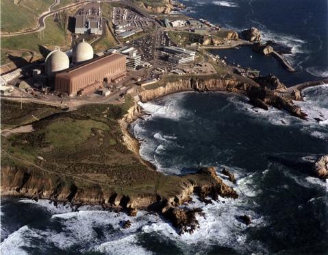 Diablo Canyon Reactor complex in central California