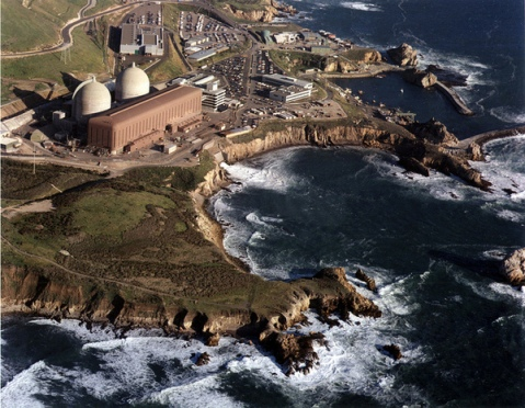 Diablo Canyon Reactor complex in central California