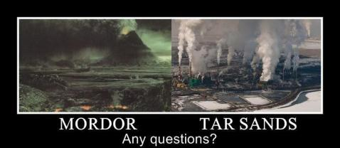 The difference is tar sands require more water