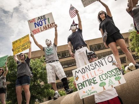 March Against Monsanto Dallas