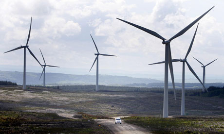 Scotland (above) and Germany both get over 25% of their electricity from renewables