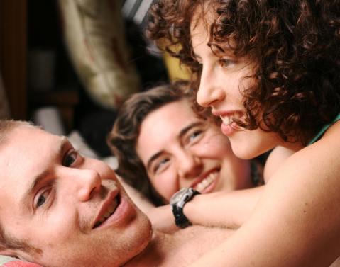 Steve, Stevia and Feonix at Loud Love