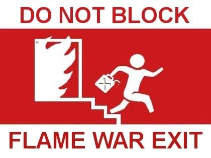 Indeed, don't block exit