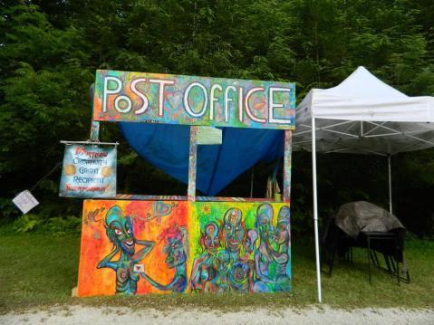 Transformus X Post office - Mysteria near Asheville NC circa 2013