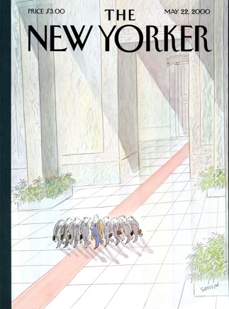 New Yorker Cover with interview with Jay Walker