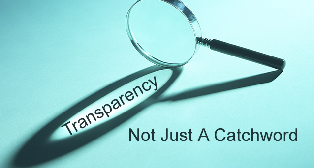 Transparency Tools (1/4)
