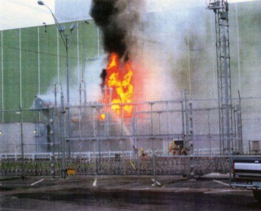 2004 Transformer fire at VT yankee