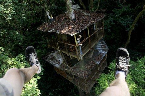 zip lines between tree houses - where have i heard this before - Finca Bellavista Costa Rica