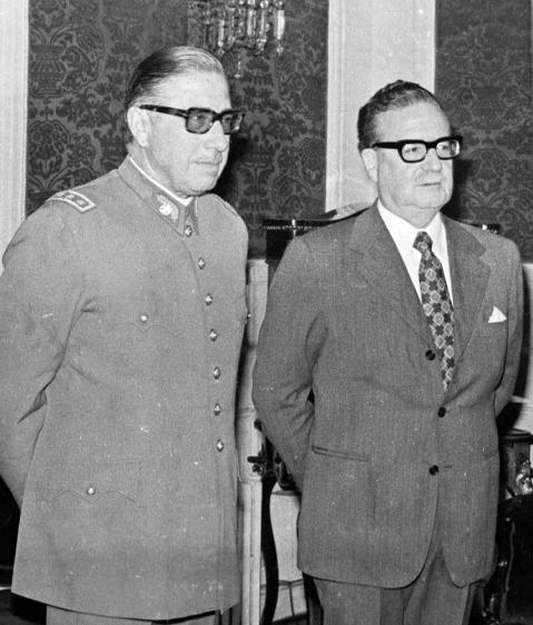 Pinochet and Allende - Circa 1982