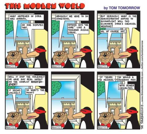 Tom tomorrow on syria