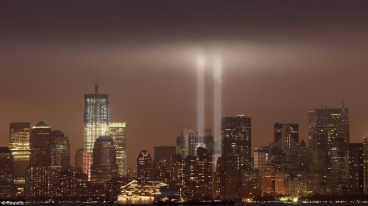 These light up the sky most nights in Manhattan