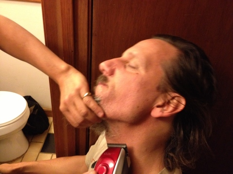 Donna V agreed to shave me