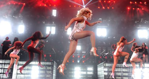 Is Beyonce exempt from the promotional laws of gravity - or can everyone fly?