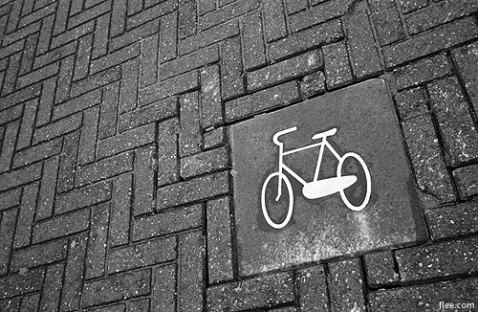 Dutch Bike Lane Logo