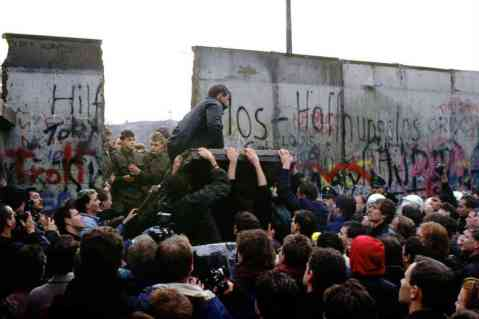 They said it would never come down - Berlin Wall Nov 10, 1991.
