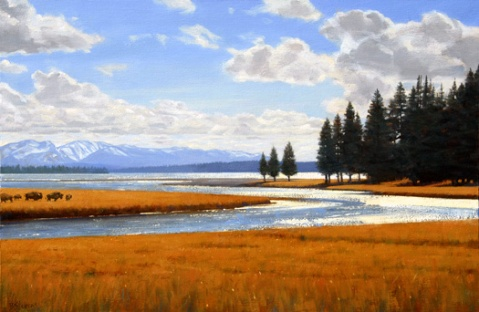 Were it October it would look like this - Yellowstone Park