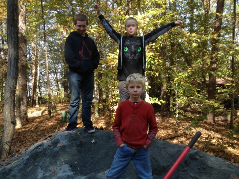 Heroic Boys - Evan, Willow and Zadek