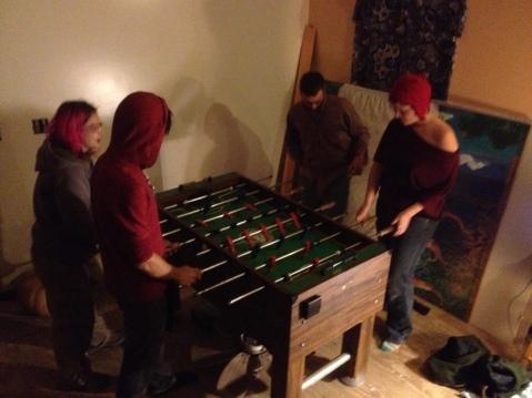 No process Foosball Table