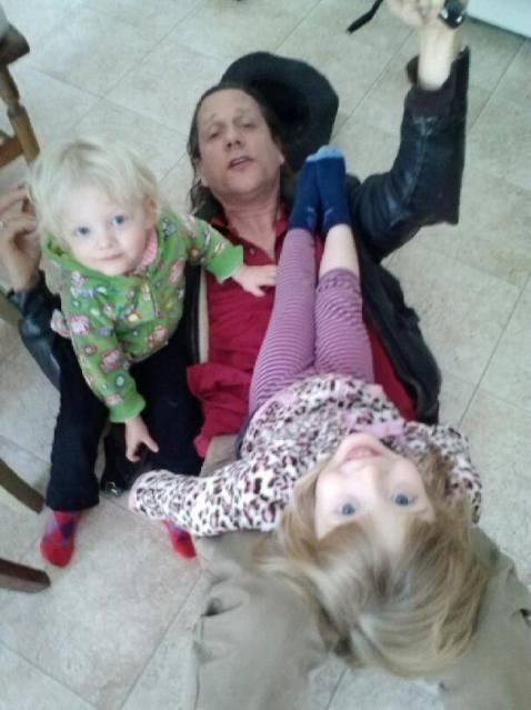 Held on the floor by too cute