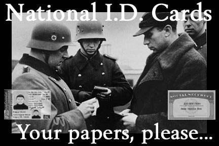 There is no national ID in the US, yet.