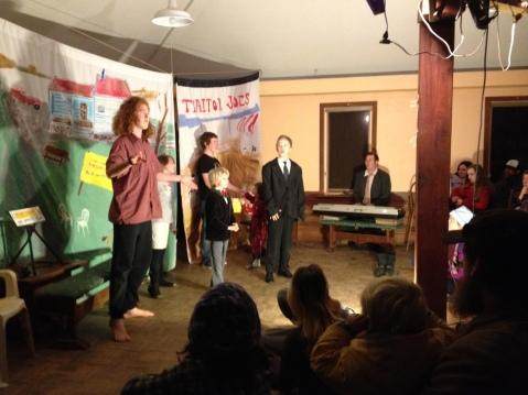 Rowan, Kaya, Zadek, Evan, Willow and Ezra in Freegantown - Circa 2014