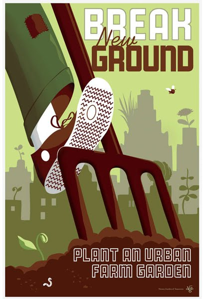 Contemporary Propaganda Poster
