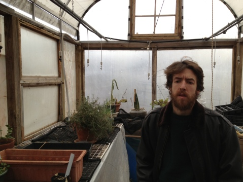 GPaul in the BFF salvage components greenhouse