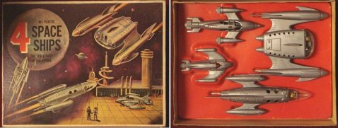 There are many types of spaceships