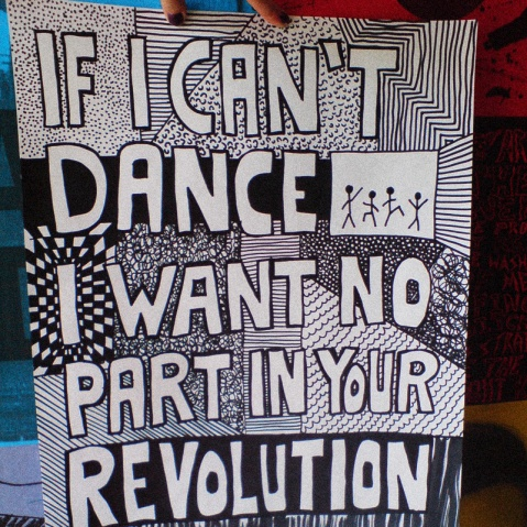 cant dance