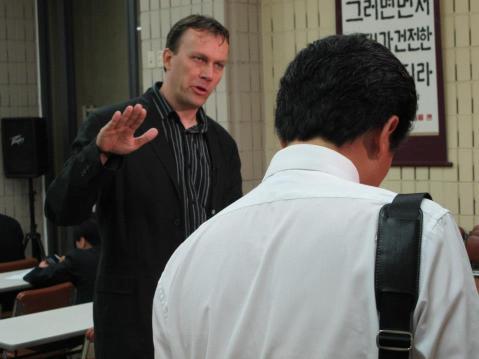 Article Author Jan Beranek in Japan after Fukushima