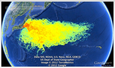 Over 300 tons of radioactive water is pouring into the Sea of Japan every day, still