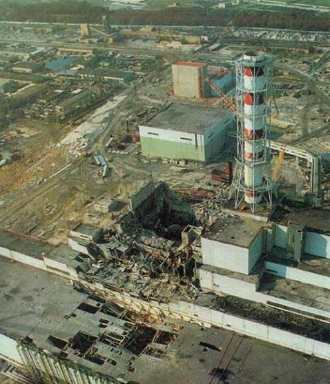 Chernobyl Reactor #4 - Circa 1987
