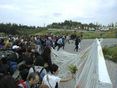 Crashing the gates at Temelin in 1996