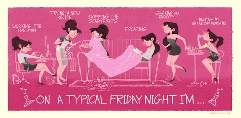What should your partner be doing of a Friday Night?