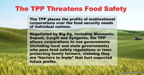 TPP threatens food