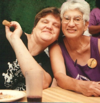 Dianne and MArione circa 1993