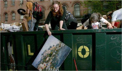 UVa uses huge dumpsters