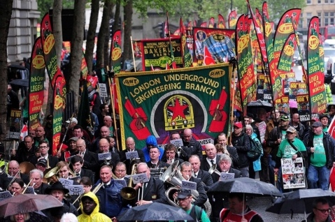 May Day 2014 - UK