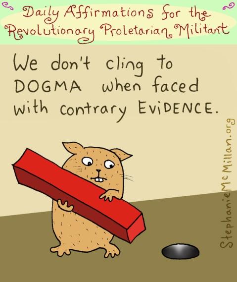 Mcmillan evidence over dogma