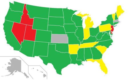 Did you know there are dramatically different laws on hitching, state by state - source hitchwiki
