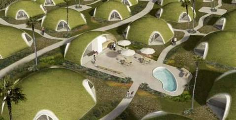 Are these modern hobbit holes?