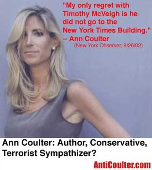 coulter NYT bombing