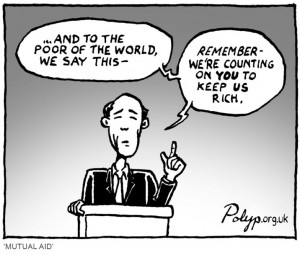 poverty and the rich cartoon