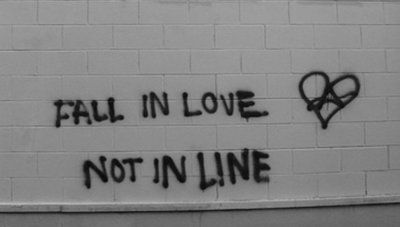 fall in love not in line
