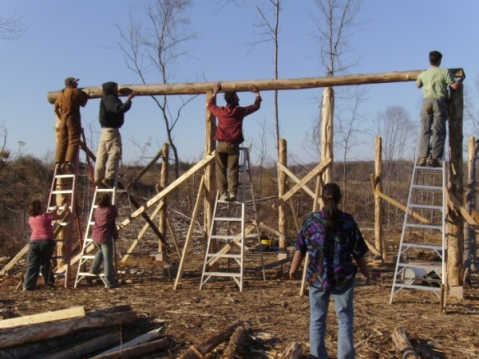 Barn Raising, post petroleum style